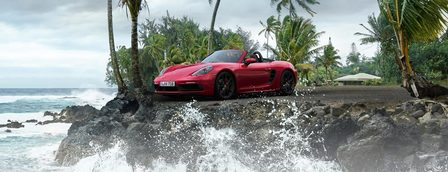 The new 718 Boxster GTS.