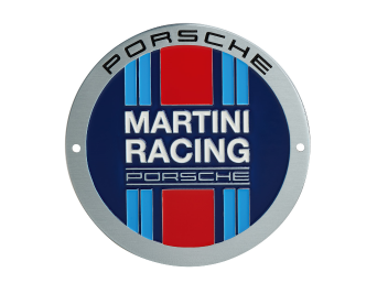 Martini Racing grill badge